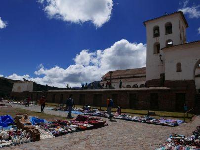 Village de Chinchero, premières ruines Incas