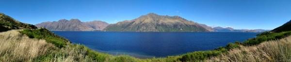 Lac Wakatipu en sortant de Queenstown